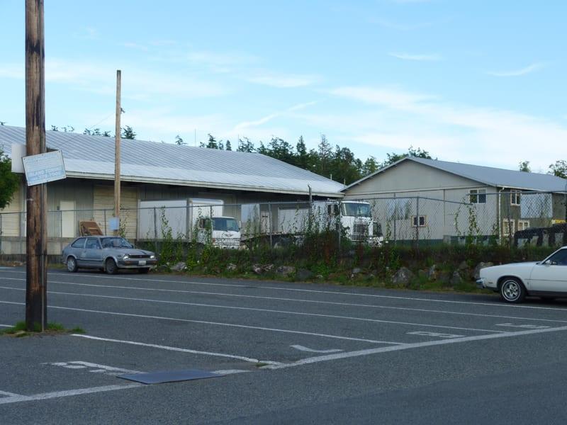 Warehouse at the Backdoor Kitchen, Friday Harbor WA