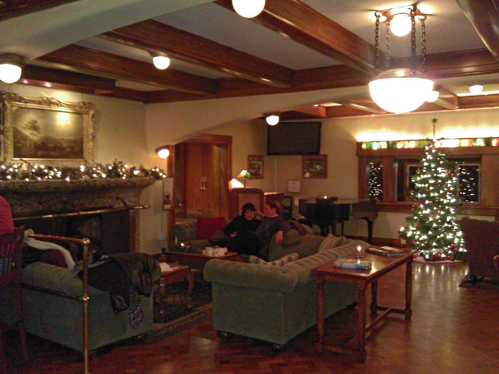 Living Room at Moran Mansion, Rosario Resort - Orcas Island