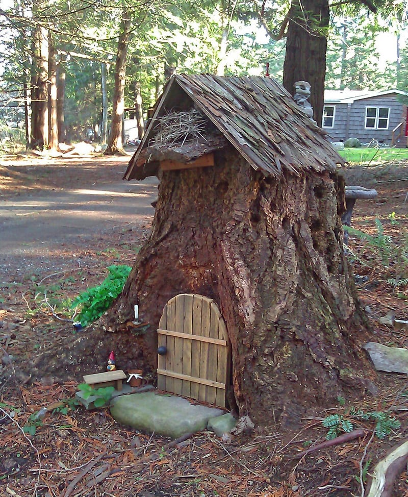 Fairy House on Orcas Island