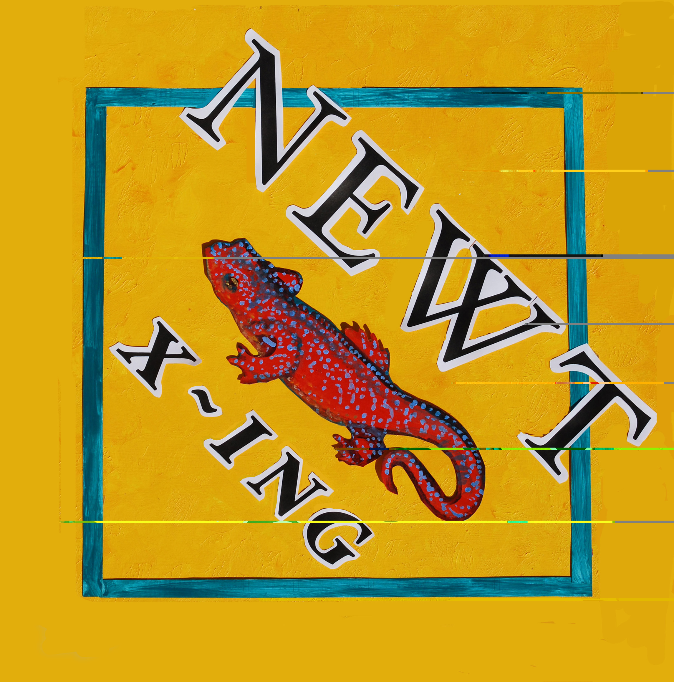 Newt Crossing sign from Kwiaht