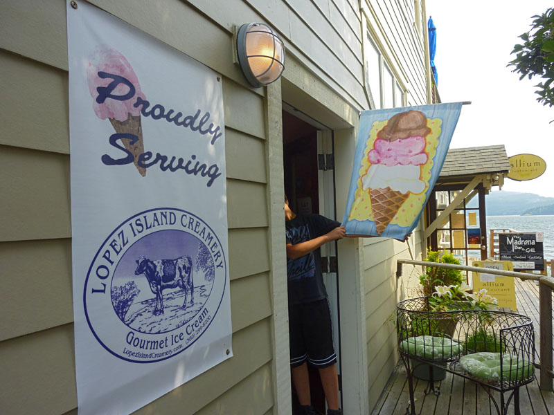 Lily Ice Cream Shop - Eastsound, Orcas Island